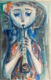 flautista by antonio valdivieso