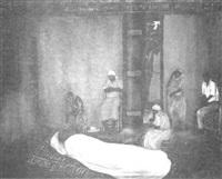 la reveillée funebre by gabriel lévêque