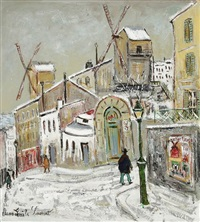 montmartre, le moulin de la galette by bruno emile laurent