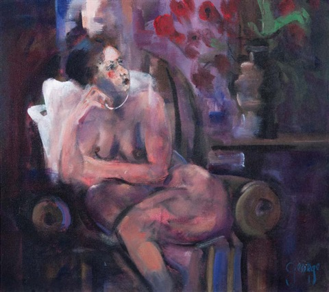 interior nude by george dunne