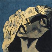 cabeza y mano by oswaldo guayasamín