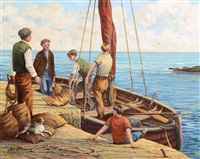 unloading the catch by anthony mcnally