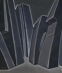 stage design in grey by dmitry krasnopevtsev