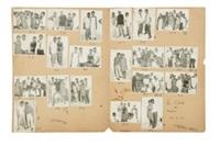 les caïds de medine (portfolio of 20) by malick sidibé