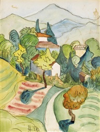 sommerliche tessiner landschaft by hermann hesse