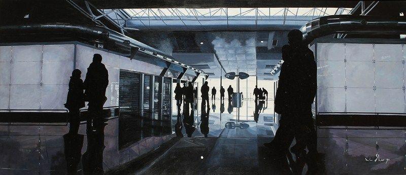 les passants by wa shao yu