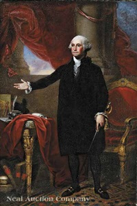 george washington (after gilbert stuart) by thomas badger