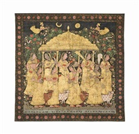 a picchvai of the gopis by anonymous-indian (19)