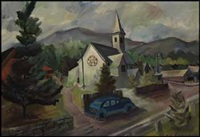 church, saanich by jack leonard shadbolt