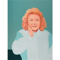 portrait of betty roman by charles pachter
