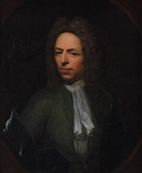 portrait of a gentleman by richard (risaert van) bleeck