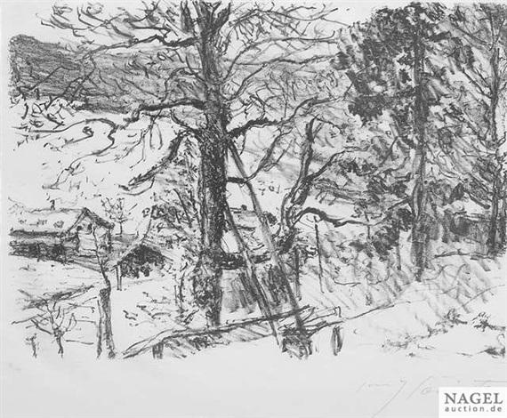 frühling am walchensee from vorfrühling in den bergen by lovis corinth