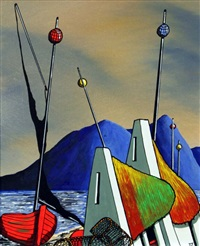 masts by t.j. miles