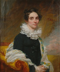 portrait of lucinda mack by samuel lovett waldo