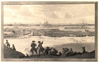 a view of haarlem seen from the 'de blinkert' in the dunes by cornelis van noorde
