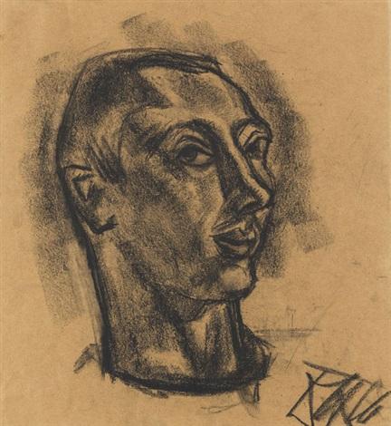 porträt eines mannes by otto dix