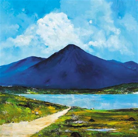 the road to renvyle connemara by david gordon hughes