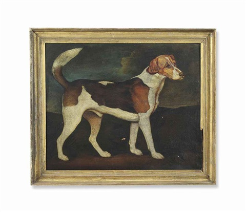 ringwood a brocklesby foxhound by george stubbs