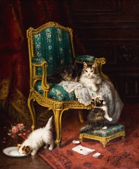 les chats by jules leroy