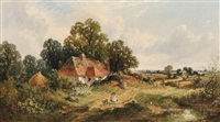 A Sussex Farmstead, 1863