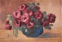 vas cu trandafiri by eugenia filotti atanasiu
