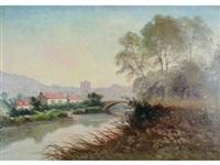 bord de rivière by paul morizet