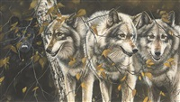 four wolves by lindsey selley