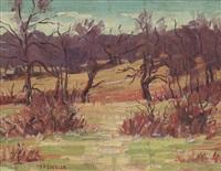 autumn landscape by samuel p. ziegler