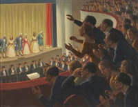 at the theatre by fermin rocker