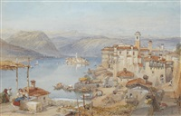 lake maggiore by william leighton leitch