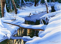 snow bridge by jack reid