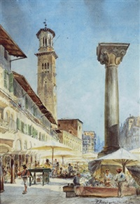 piazza erba, verona by karel liebscher