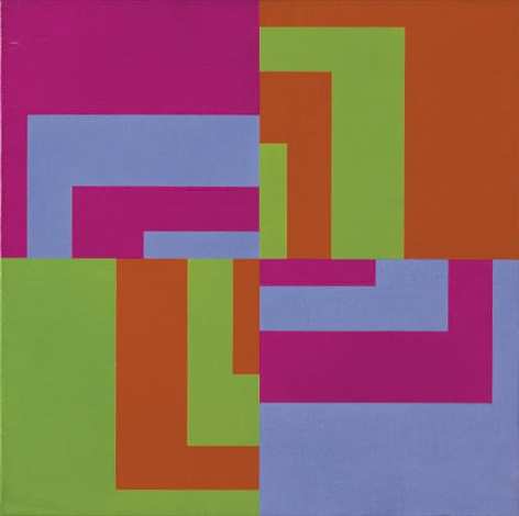 2 invers kombinierte komplementfarbpaare by carlo vivarelli