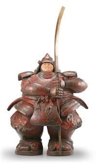 custode samurai by matteo pugliese