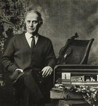 yehudi menuhin (violoniste et chef d'orchestre américain, 1916-1999) by snowdon
