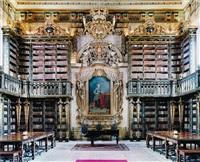 biblioteca geral da universidade de coimbra iv by candida höfer