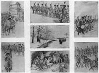l'armée de napoléon by henri pille