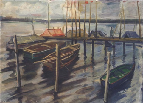 boote am steg by annot anna ottonie jacobi