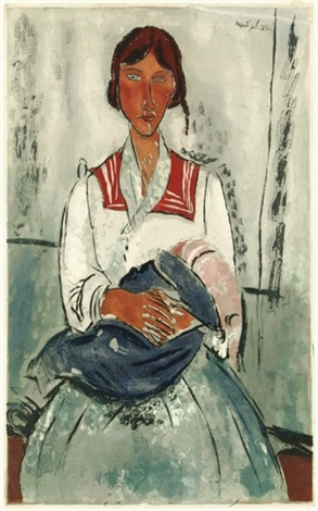 litalienne by amedeo modigliani