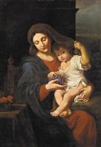 la virgen de las uvas by jean baptiste vermay