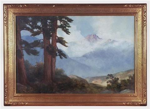 mist rising in pine mountains by alice bryant