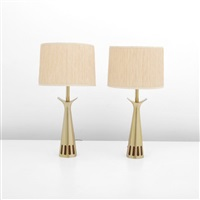 veneer details (pair) by laurel lamp (co.)