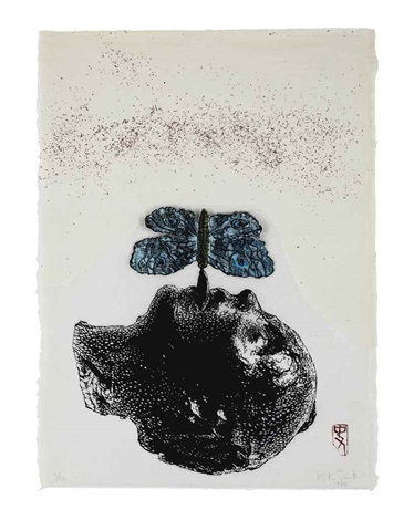 the moth (wye 75) by kiki smith