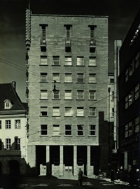 öffentliche bauten (6 works) by arthur köster