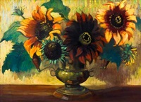 sunflowers by lena alexander