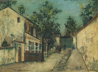 lapin agile by maurice utrillo