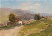 kleine landschaft by wilhelm (regnal w.) langer