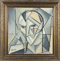 visage cubiste by jaroslav kafka