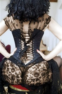 corset by christian peter