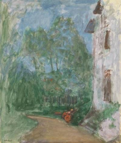 le chemin devant la maison by edouard vuillard